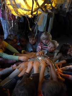 """During dark winter months, help kids celebrate the solstice and season by taking advantage of the different perspective """"dark"""" gives us all, and create/explore, dance, sing and tell stories. Seasons are a great way to incorporate science and social studies in a relevant, fun and understandable way."""