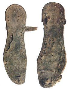 Leather Sandals, Qumran Caves