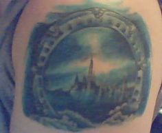 Stargate Tattoo Its about seven inches across