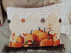 Falling into Autumn Pillows - Southern DayDreams