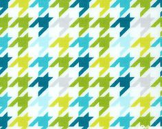 Mixed Bag - Graphic Houndstooth - White - 100% BRUSHED COTTON