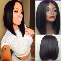 Wholesale Bob lace front human hair wigs,glueless short lace front wigs&full lace african american bob wigs for black women, Free shipping, $102.79/Piece | DHgate Mobile
