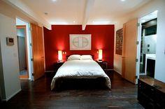 Rode Slaapkamer Ideeen : Rode gordijnen slaapkamer u cartoonbox