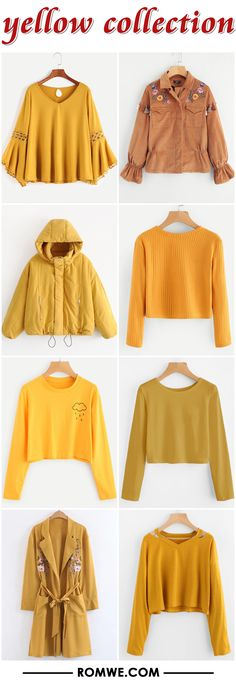 yellow collection - romwe.com