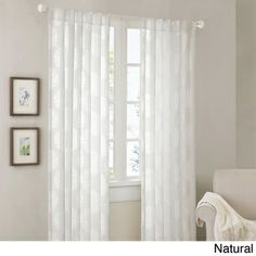 Madison Park Emerson Damask 95-inch Curtain Panel | Overstock.com Shopping - Great Deals on Madison Park Curtains