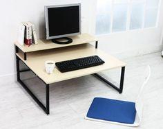 [Deals] BLMG Multi 2 Tier Computer Floor Desk