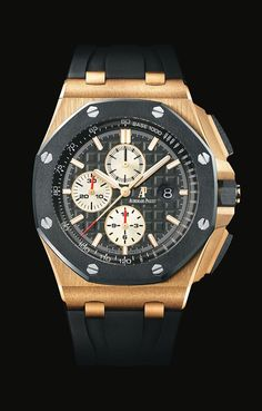 Watch Audemars Piguet Royal Oak Offshore Chronograph Rose Gold - ref 26400RO.OO.A002CA.01