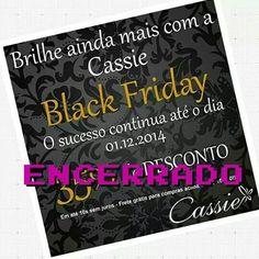 ✨ O Black Friday Cassie foi um sucesso!!!  ✨  Gostaríamos de agradecer nossas clientes e amigas que acreditam em nosso trabalho.  Obrigada à todas e todos!!!     O FRETE GRÁTIS E AS PARCELAS CONTINUAM!!   www.cassie.com.br   #Cassie #semijoias #trends #moda #fashion #estilo #look #instamoda #beautiful #Happy #good #cute #acessórios #tendências #inlove