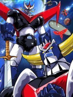 Japanese Robot, Japanese Cartoon, Gundam, Ulysse 31, Days Anime, Battle Robots, Robot Cartoon, Science Fiction, Cartoon Video Games