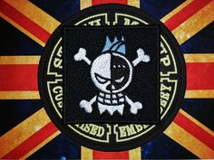 "Cosplay - Anime - Manga ""ONE PIECE"" - FRANKY flag patch from the Strawhat Crew by xxSTITCHMEUPxx on Etsy"
