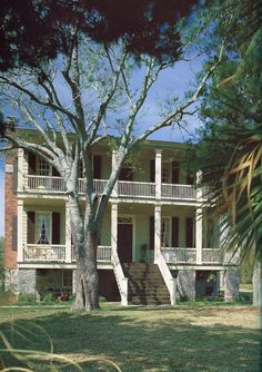 Tombee Plantation c. 1790 was the first house constructed on St. Helena Island.