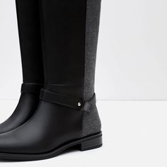 COMBINED BOOTS from Zara