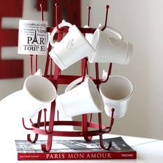 I found one of these at World Market for $14 and I love it. I thought I was going to have to go to Paris to get one. Haha