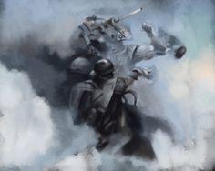 Ashley Wood Study - WWR Delux Cover #AshleyWood #Art #Artwork