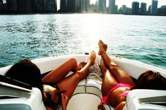 boating with my bff <3