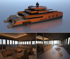 Using clues from the Dutch Art movement, Australian superyacht designer Misha Merzliakov has come up with his creation, called the 'Eva' yacht. Though it's currently at a concept stage, experts from the industry believe that, converting the idea int