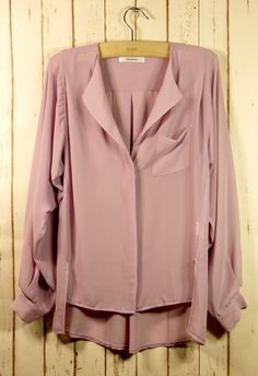 loose neutral blouse