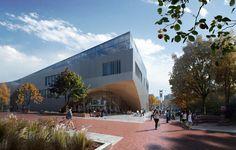 Bibliothek der Zukunft - Snøhetta bauen in Philadelphia
