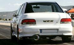 Subaru impreza gc8 race start