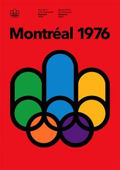 Montréal 1976 Olympics Poster