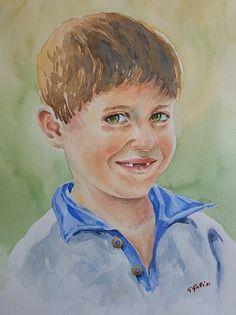 - Gallery - Giulia Gatti Watercolor And Ink, Watercolor Paintings, Watercolors, Damask Rose, Gray Eyes, Red Earrings, Gallery, Drawings, Artist