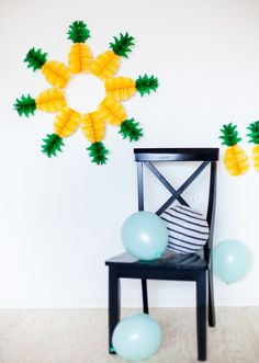 pineapple garland - Google Search