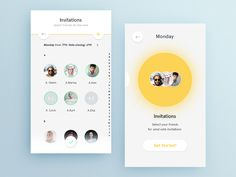 Contact page - design Inspiration