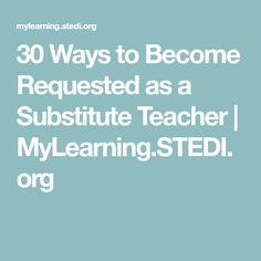 how to thrive as a substitute teacher pinterest substitute rh pinterest com