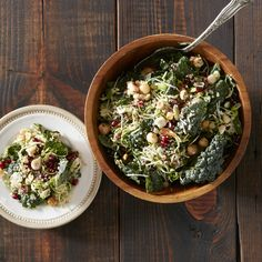 Kale and Brussels Slaw with Quinoa - Make some simple Meal Magic with this delicious recipe from Reynolds Kitchens.