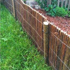 Fűzvessző kiskerítés, ágyásszegély 30x300 cm - Kosárfutár Material, Timber Wood, Lawn And Garden