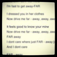 Le sigh. @deftonesband #deftones #lyrics #bequietanddrive(faraway) | Deftones
