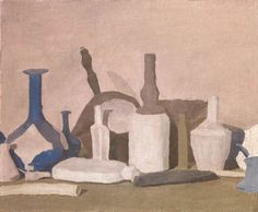 Giorgio Morandi, Still Life (Still Life of Violet Objects), 1937,