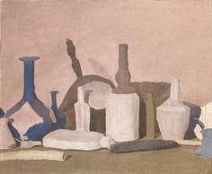 Giorgio Morandi, Still Life (Still Life of Violet Objects), 1937,