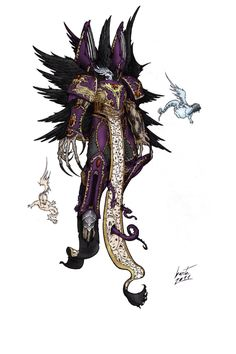 thegodofchaoticpleasures:  Bow before Vinicius by ShadowEngine