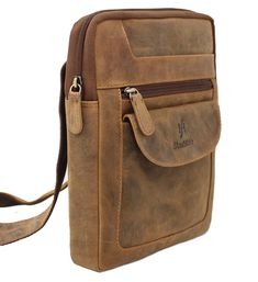 Mens Womens Handmade Distressed Hunter Brown Real Leather Cross Body Travel Messenger Bag For Ipad Tablet 505 Leather Laptop Bag, Leather Crossbody, Leather Bag, Crossbody Bag, Cool Messenger Bags, Travel Messenger Bag, Leather Working, Real Leather, Hunter Brown