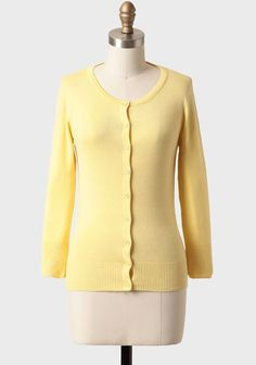 Care For You Cardigan In Yellow $28.99 at #Ruche. Complete any ...