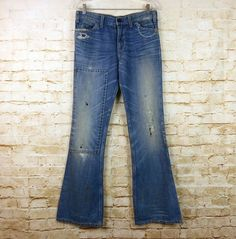 aa0b44f0af36 Current Elliott Womens Mid Rise Straight Leg Jeans Distressed Blue Cotton  Sz 27 884926192267