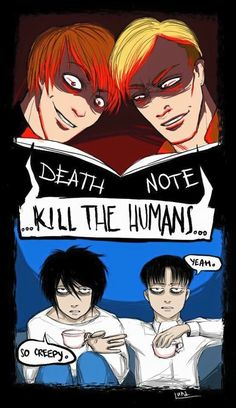 Funny anime memes attack on titan death note 27 super Ideas Anime Meme, Funny Anime Pics, Anime Guys, Anime Lol, Aot Anime, Death Note Quotes, Death Note デスノート, Death Note Funny, Attack On Titan Meme