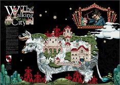 Isetan Wonder Christmas Artbook 2012 - By Isetan & Klaus Haapaniemi