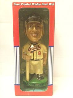 (TAS003081) - MLB Baseball Baltimore Orioles Bobble Head Doll - Cal Ripken #8
