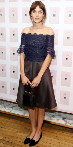 Look of the Day: September 5, 2013 - Alexa Chung : InStyle.com
