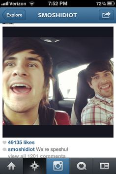 Anthony and Ian. XD