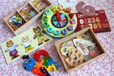 More wooden puzzles