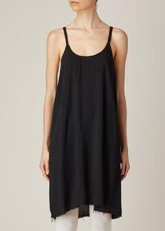 Raquel Allegra Slip Dress (Black)