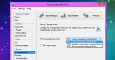 - Το Easy Image Modifier ίσως είναι ο απλούστερος τρόπος για να μπορέσετε να αλλάξετε διαστάσεις στις φωτογραφίες σας να τις μετονομάσετε και να βάλετε το λογότυπό σας. Μπορείτε με την ίδια ευκολία να κάνετε τις παραπάνω λειτουργίες είτε πρόκειται να επεξεργαστείτε μία-μία μεμονωμένα τις φωτογραφίες σας είτε μαζικά. Το μόνο που έχετε να κάνετε είναι να τρέξετε το πρόγραμμα και να επιλέξετε τη φωτογραφία ή το φάκελο με τις φωτογραφίες επιλέγοντας αντίστοιχα Load Images αν πρόκειται για…