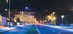 Rue du Dr Bouchu, Part-Dieu, Lyon Conception lumière : LEA Photo : Vincent Laganier