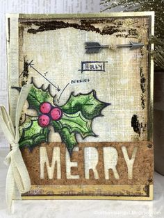 Richele Christensen: 12 Tags of 2015 / Holiday Cards Series - November Inspiration