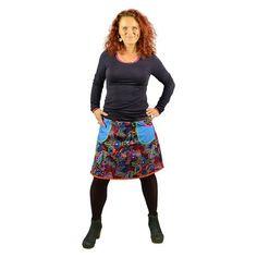 Mønstret nederdel Porcelinge