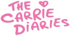 Logo for the carrie diaries