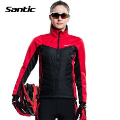 57.11$  Watch now - http://ali98m.worldwells.pw/go.php?t=32633294815 - New Santic Winter Cycling Jackets Women Thermal Windproof Outdoor Sports Bicycle Jacket Size S-XL Bike Jersey Coat Ropa Ciclismo 57.11$